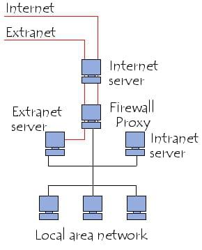 Système intranet/extranet