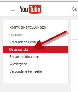 Youtube Kanal Privat Stellen