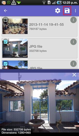 Gelöschte Fotos und Videos in Android wiederherstellen