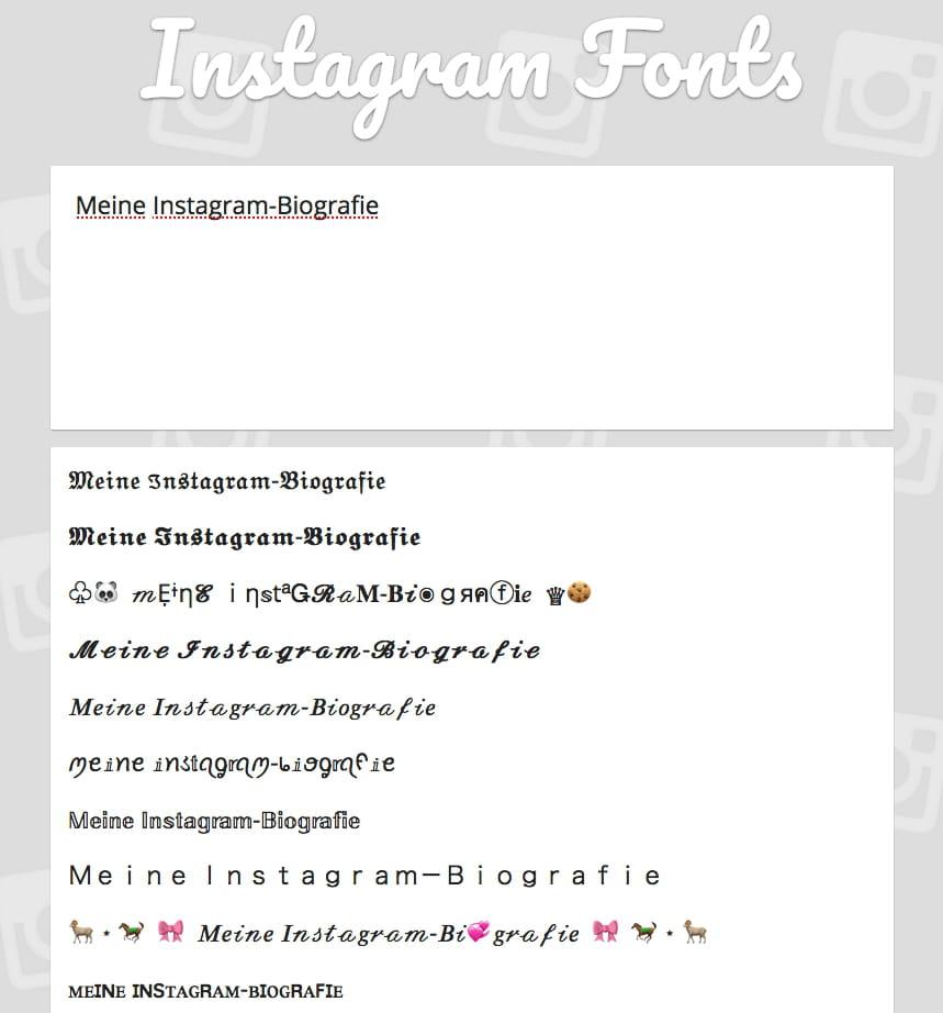 Instagram Fett Und Kursiv Schreiben Und Schriftart ändern Ccm