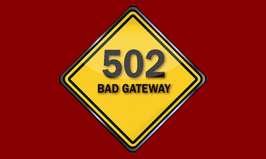 Was Bedeutet 502 Bad Gateway