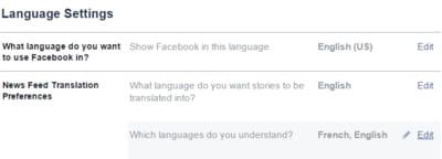 Automatisches übersetzen Auf Facebook Ccm