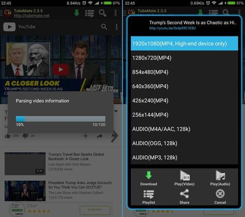 TubeMate YouTube Downloader für Android kostenlos
