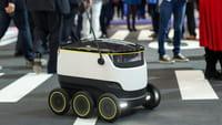 Test mit Lieferrobotern in Europa