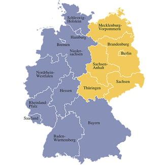 karte der neuen bundesländer Alte und neue Bundesländer   Recht Finanzen