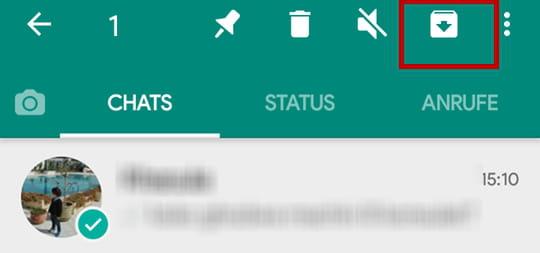 Whatsapp Unterhaltungen Archivieren