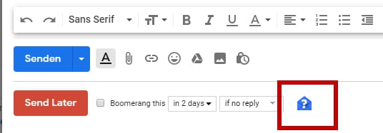 Lesebestätigung Gmail