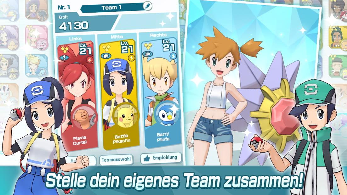 Pokemon Masters Entwickeln