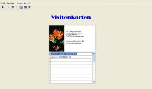 Heinze Visitenkarten Kostenlos Downloaden Letzte Version