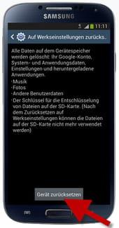 Samsung Galaxy S4 Sperrbildschirm Deaktivieren