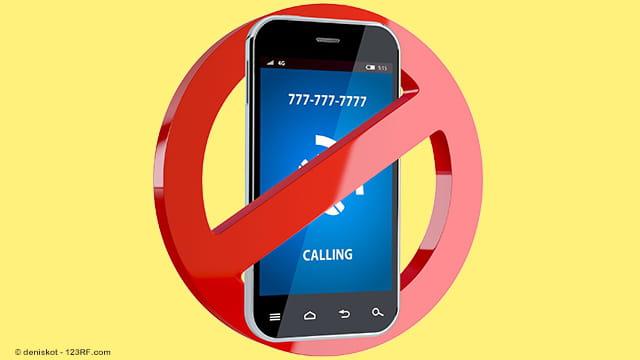 Unerwünschte Anrufe Blockieren Festnetz