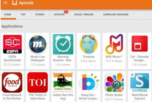 Aptoide kostenlos downloaden - Letzte Version auf Deutsch