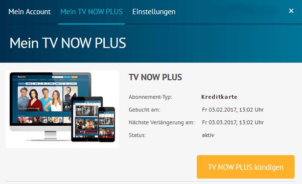 tv now und tv now plus k ndigen. Black Bedroom Furniture Sets. Home Design Ideas