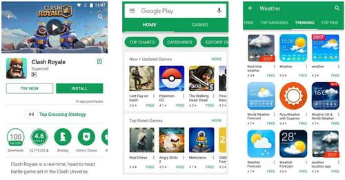 Google play kostenlos apps herunterladen